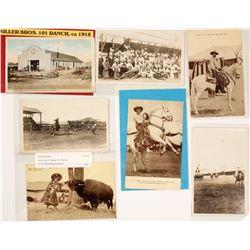 Premium Millers Bros. 101 Ranch Wild West Show Postcards