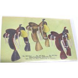 Chattanooga Saddlery Company Postcard