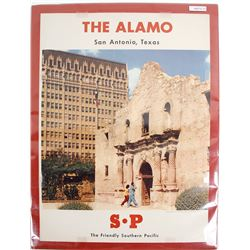 "Poster of ""The Alamo"""