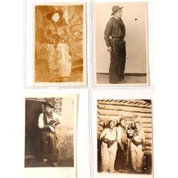 Studio Cowboy Photo Postcards (4)