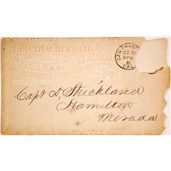 Whiskey Advertising Envelope