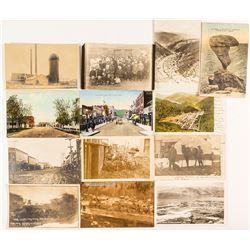 Idaho Small Town Postcard / Postal History Collection