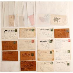 5 Leather Postcards, Other Postcards