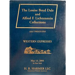Louis Dale and Lichenstein Western Express Cover Auction Catalog