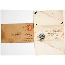 US Postage Covers with A5 and U5