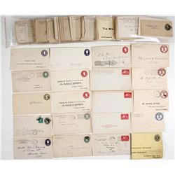 US Stamped Envelope Collection