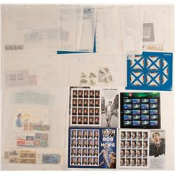 US Commemorative, Sheets, Plate Blocks, Panes and More