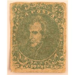 Confederate Andrew Jackson #3 Stamp