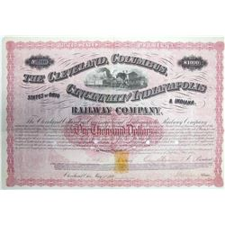 Cleveland, Columbus, Cincinnati & Indianapolis Railway Co. Revenue Imprinted Bond