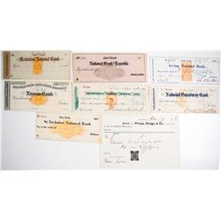 Revenue Stamped Check Collection
