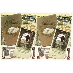 Alaska & Yukon Stock & Bonds (2 Books)
