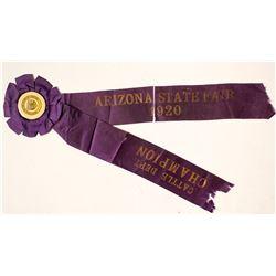 Arizona State Fair Blue Ribbon