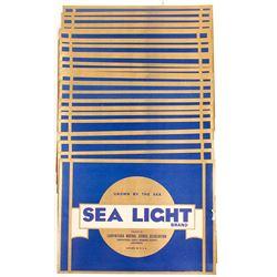 Sea Light Brand Carton Labels (50)