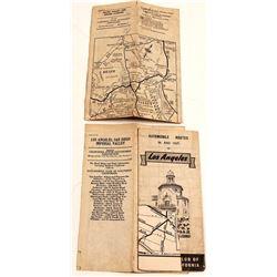 Southern Calif. Folding Maps (3)