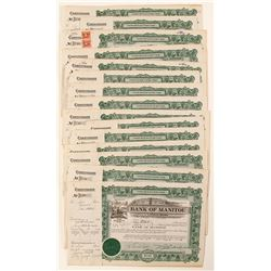 Bank of Manitou Certificates (14)