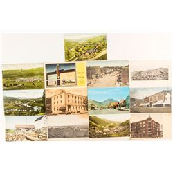 Thirteen Small Town Idaho Postcards
