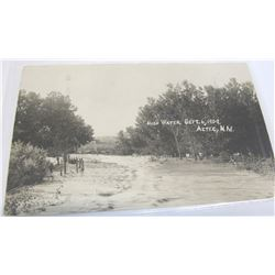 RPC of flood in Aztec, New Mexico - 1909
