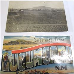 1911 Tucumcari RPC of the Town from its Outskirts
