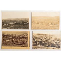 Four Nice Panorama Postcards of Pendleton, Oregon