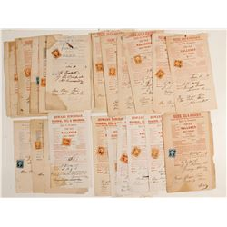 Old Wallower Freight Receipts (30)
