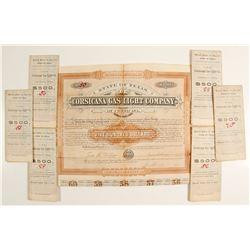 Corsicana Gas Light Co. Bonds (7)