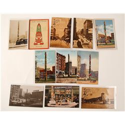 Seattle Native American Themed Postcards