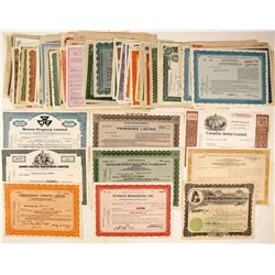 Canadian Industrial Stock Certificates