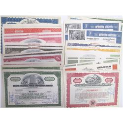 Canadian Power & Industrial Stock Certificate Collection