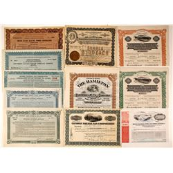 Canadian Power Company Stock Certificates