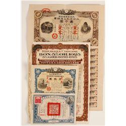 4 Chinese and Japanese Bonds