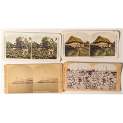 Five Cuba Stereoviews