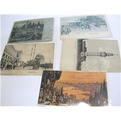 Five Constantinople Postcards