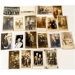 Real Photo Postcards of Uniformed Men