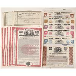 Dealers Lot of Stock Certificates