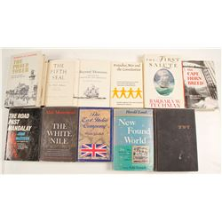 Exploration and War Related Books (11)