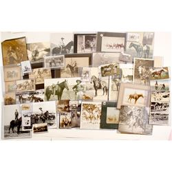 Horse and Rider Photograph Collection