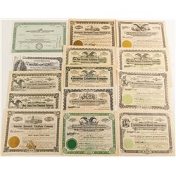 Midwest Telephone Stock Certificates Group