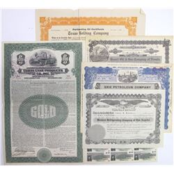 Misc. U.S. Stock Certificates & a Bond