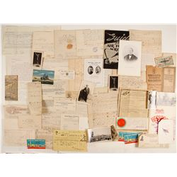 Mixed Envelope Of US Ephemera