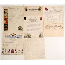 Nice Pictorial Letterheads (7)