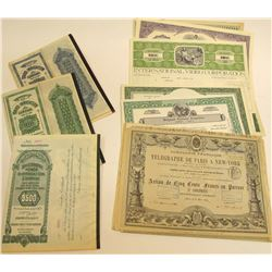 Stock Certificate Group