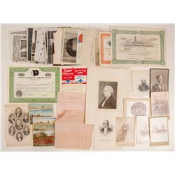The Bottom Drawer of Ephemera