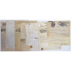U.S. Letterheads and Billheads