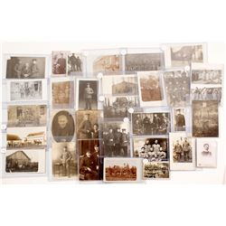WWI Foreign Military Real Photo Postcards