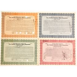 Stock Certs. New Almaden Quicksilver Mines