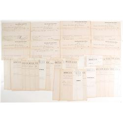 Keystone Consolidated Mining Receipt Archive