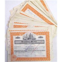 Brookline Oil Co. Stock Certificate Archive