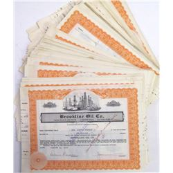 Brookline Oil Co. Stock Certificate Archive