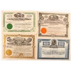 Colorado Mining Certificates
