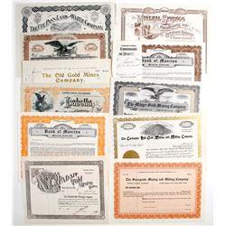Colorado Mining Stock Certificates (11)